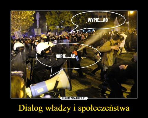 Dialog władzy i społeczeństwa