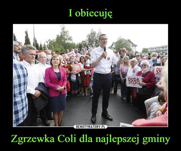 Zgrzewka Coli dla najlepszej gminy –