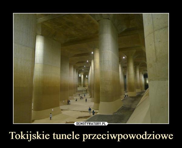 Tokijskie tunele przeciwpowodziowe –