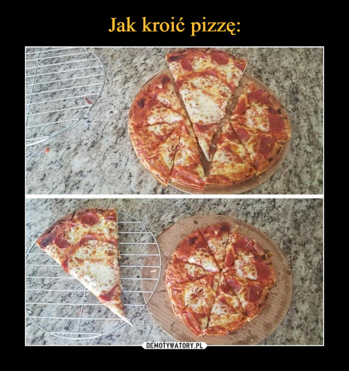 Jak kroić pizzę: