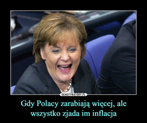 Gdy Polacy zarabiają więcej, ale wszystko zjada im inflacja –