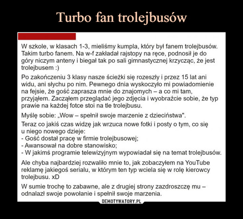 Turbo fan trolejbusów