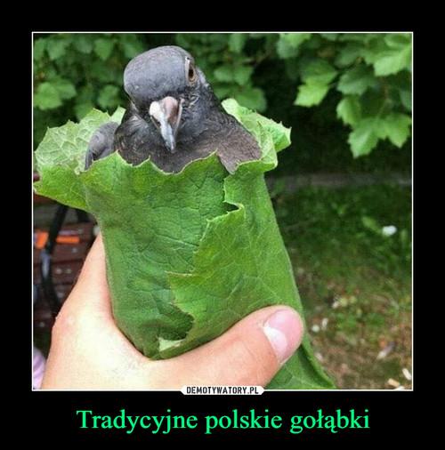 Tradycyjne polskie gołąbki