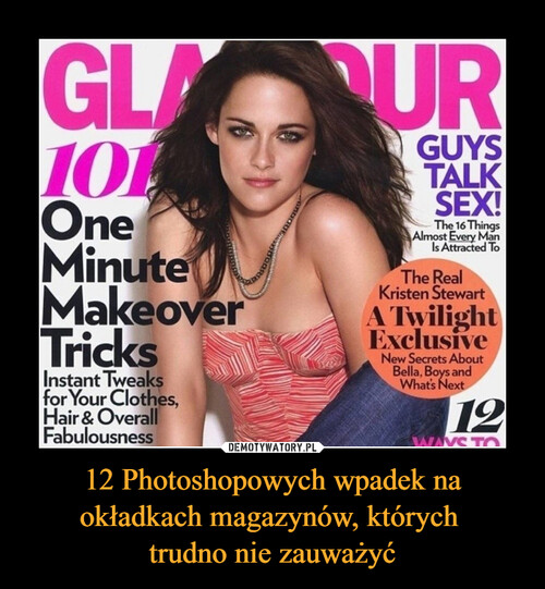 12 Photoshopowych wpadek na okładkach magazynów, których  trudno nie zauważyć