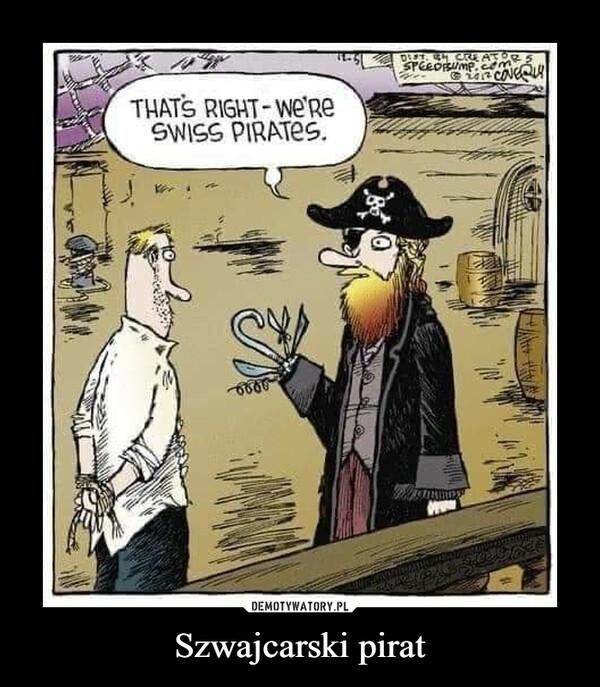 Szwajcarski pirat –