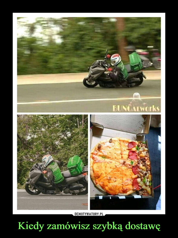 Kiedy zamówisz szybką dostawę –