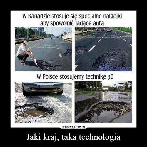 Jaki kraj, taka technologia