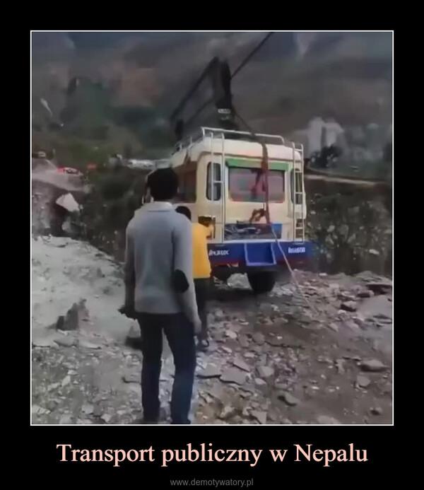 Transport publiczny w Nepalu –
