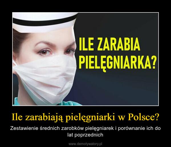 Ile zarabiają pielęgniarki w Polsce? – Zestawienie średnich zarobków pielęgniarek i porównanie ich do lat poprzednich